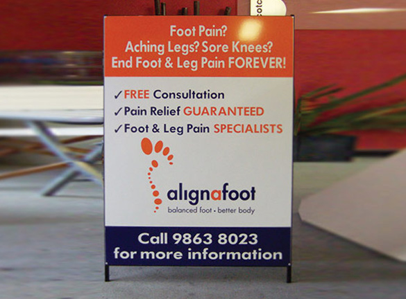 A Frame Signage Services