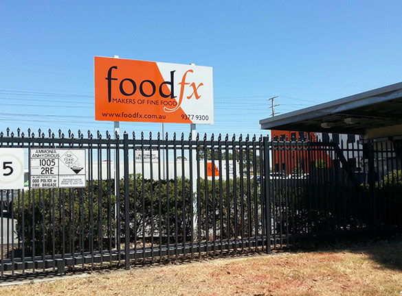 Building Signage FoodFX1