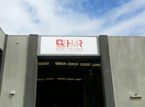 Building Signage HMR HealthCare1