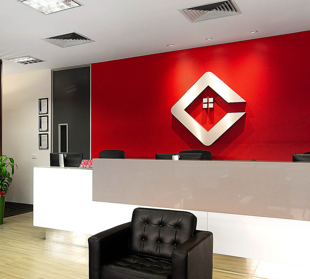 Our Services Signage Reception Indoor