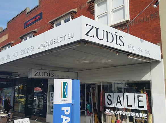 Shop Front Signage Zudis2