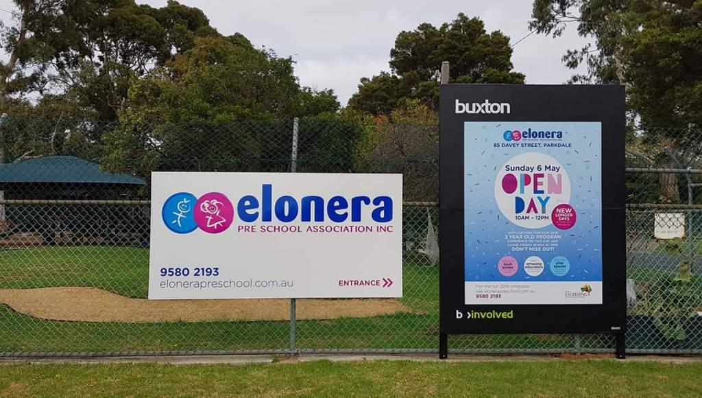 Elonera Fence Signage1