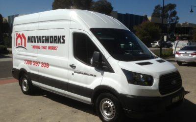 MOVINGWORKS vehicle signage