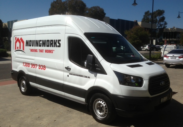 MOVINGWORKS vehicle signage